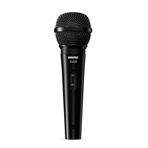 Tudo sobre 'Microfone Shure SV200'