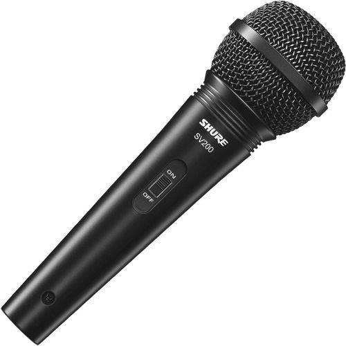 Microfone Vocal C/fio Sv200 Shure