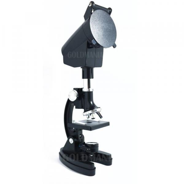 Microscópio com Ampliação 300x 600x e 1200x Bluetek 2xt Mod: Bm-2xt