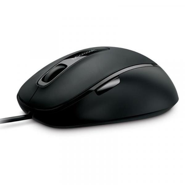 Microsoft Mouse com Fio Comfort USB PRETO/CINZA - 4FD00025