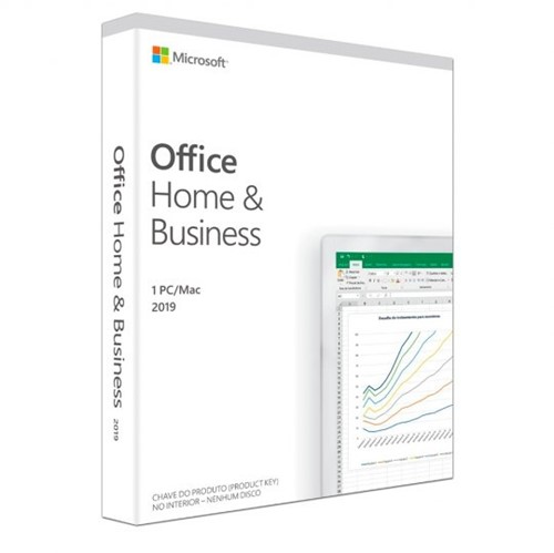 Tudo sobre 'Microsoft Office Home Business 2019 32/64Bits - T5D-03241'