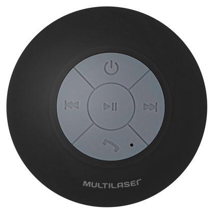Tudo sobre 'Mini Caixa de Som Bluetooth Shower Speaker 8w Rms Preta Multilaser - Sp225 Sp225'