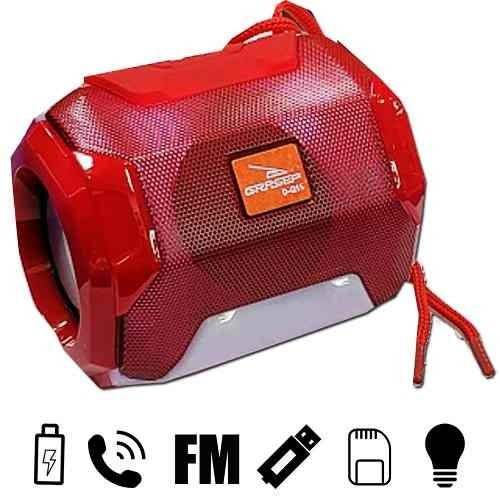 Tudo sobre 'Mini Caixa Som Bluetooth Bazooca Usb/sd/fm/bt 10w Red'