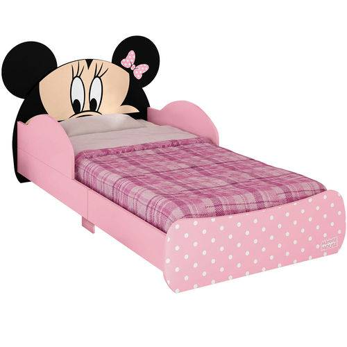 Tudo sobre 'Mini Cama Minnie Disney Rosa Original Pura Magia'