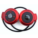 Mini Fone Bluetooth Sem Fio Mini-503 - Vermelho