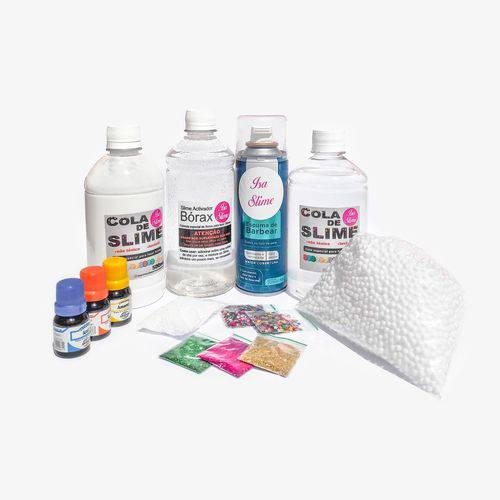 Mini Kit para Fazer Slimes - Isa Slime