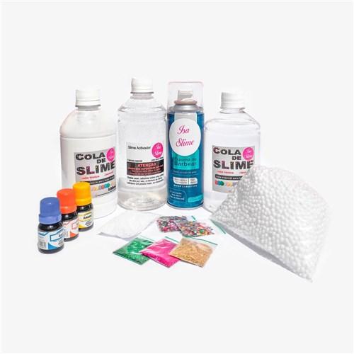 Mini Kit para Fazer Slimes