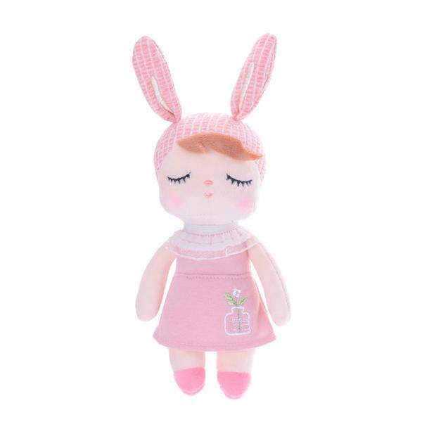 Mini Metoo Doll Angela Jardineira Rosa