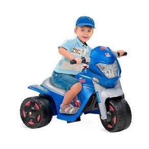 Mini Moto Elétrica Vingadores Azul EL 6v - Brinquedos Bandeirante