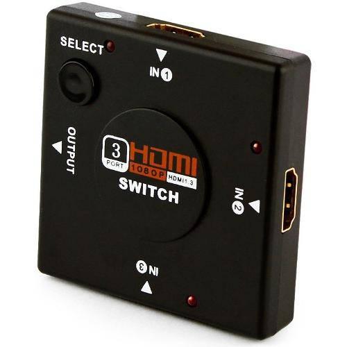 Tudo sobre 'Mini Switch Hdmi 4 Portas'