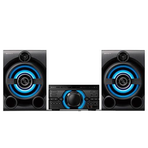 Tudo sobre 'Mini System Mhc-md60 com Mega Bass, USB, Bluetooth ,função DJ e Karaokê, 1600w Rms - Sony'