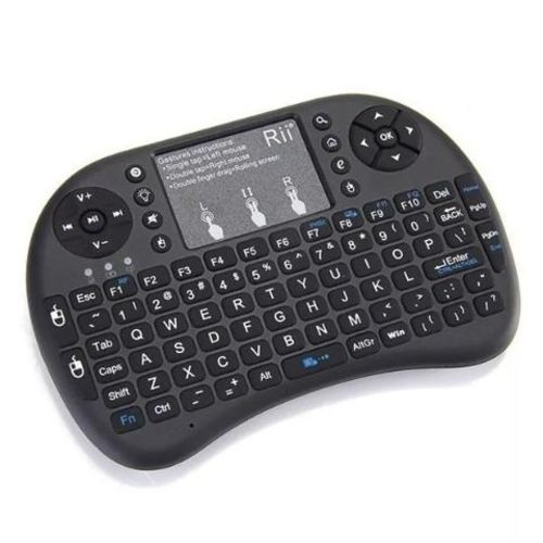 Tudo sobre 'Mini Teclado Wireless Keyboard Mouse Smart Tv'