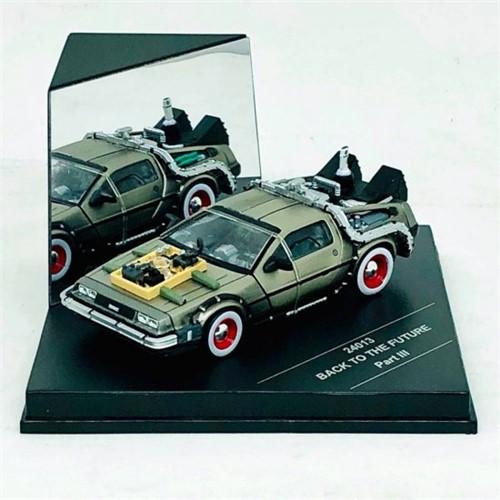 Tudo sobre 'Miniatura Carro DeLorean Back To The Future III 1:43 - Vitesse'