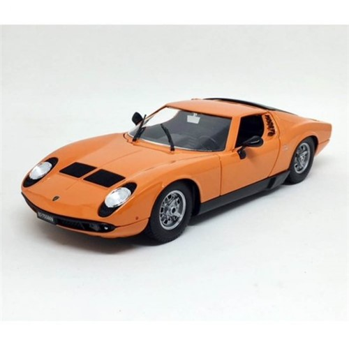 Tudo sobre 'Miniatura Carro Lamborghini Miura 1968 1:18 Burago'