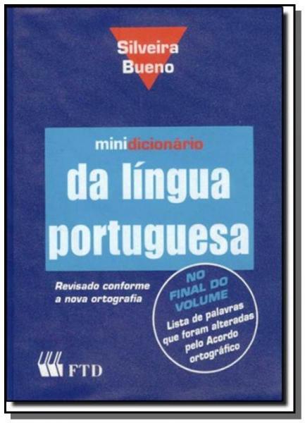 Minidicionario da Lingua Portuguesa - Capa Pvc - Ftd
