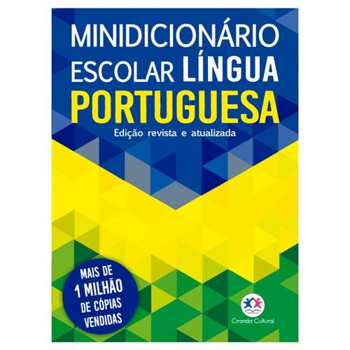 Minidicionário Escolar Língua Portuguesa Atualizado Acordo