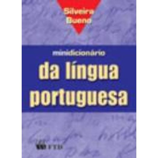 Minidicionario Silveira Bueno Portugues - Ftd