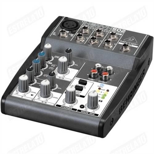 Mixer 5 Canais Xenyx 502 - Behringer