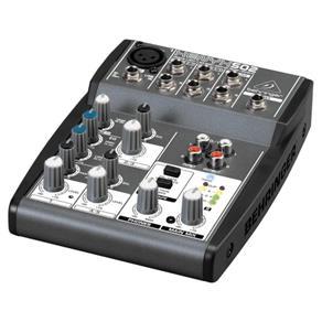 Mixer/Mesa de Som Xenyx 502 Behringer com 5 Entradas - 110v