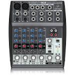 Mixer/Mesa de Som Xenyx 802 Behringer 110v com 8 Entradas
