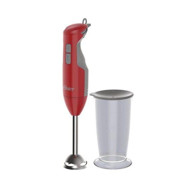 Mixer OSTER 2610R 127V Versatile Vermelho Haste em ACO INOX