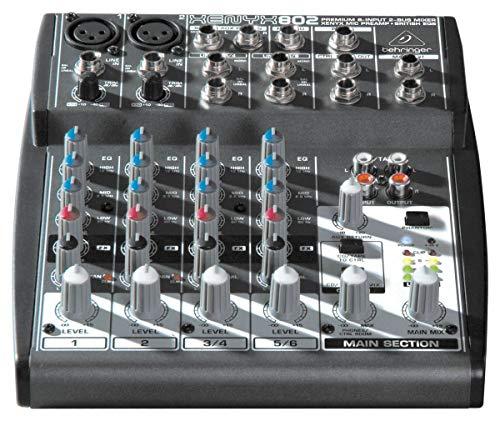 Mixer Xenyx 110V - 802, Behringer