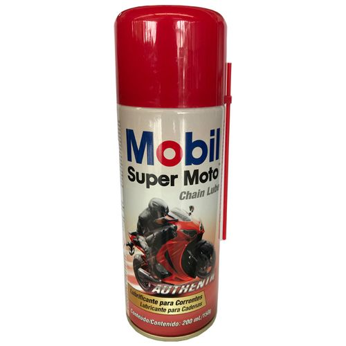 Tudo sobre 'MOBIL Moto Chain Lube Spray 200ML'
