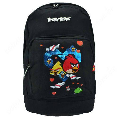 Tudo sobre 'Mochila Angry Birds para Notebook Preta - Santino'