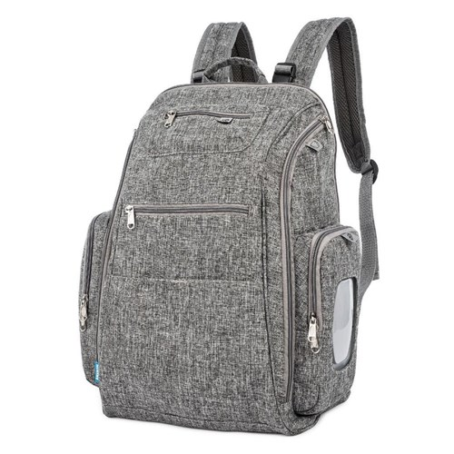 Mochila Back Pack - Cinza