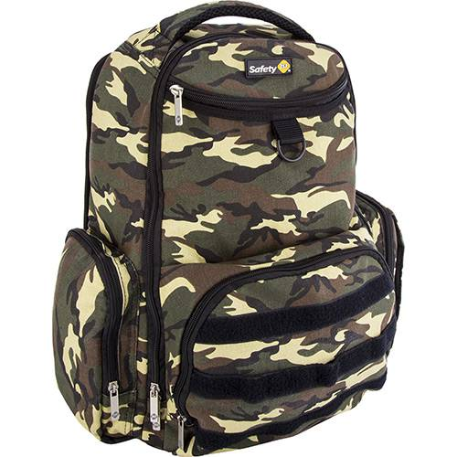 Mochila Back'pack Delta Green Army - Safety 1st