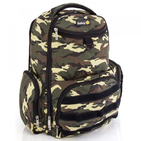 Mochila BackPack Delta Safety 1st Green Army