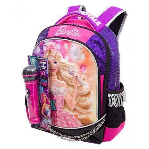 Mochila Barbie Rock N Royals G Roxo 064345 48