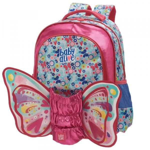 Mochila Costas Baby Alive Butterfly - G - Pacific