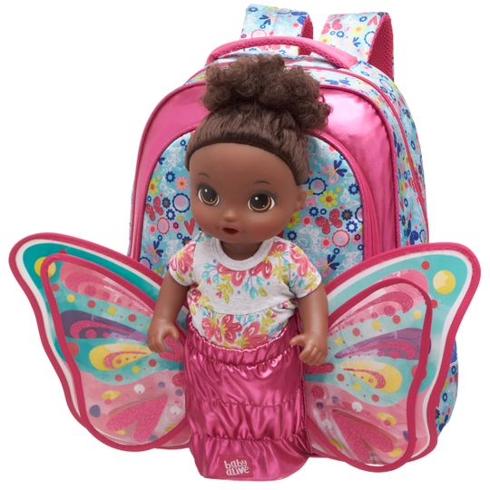 Mochila Costas M Baby Alive Butterfly - M
