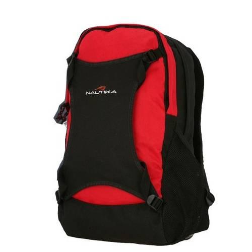 Mochila Daypack para Uso Urbano Vermelha/preta- STREET - Nautika