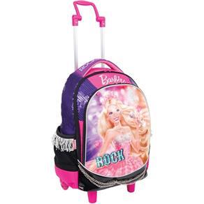 Mochila de Carrinho Barbie Rock N Royals Gd 3bolso Sestini