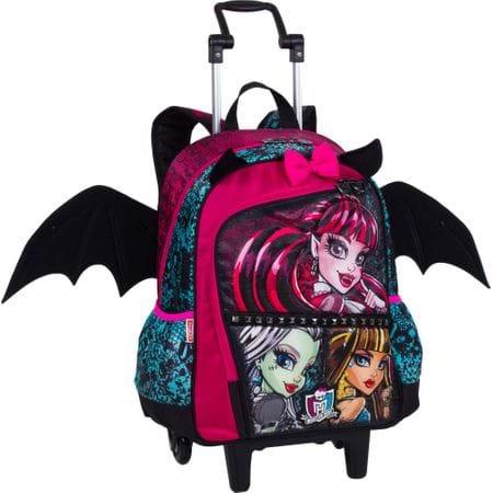 Mochila de Carrinho Monster High com Alça 16z Grande 40cm