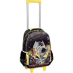 Tudo sobre 'Mochila de Carrinho Transformers Battle Bumblebee Preto/Amarelo'
