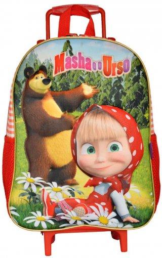 Tudo sobre 'Mochila de Rodinhas Masha e o Urso Pic-Nic'