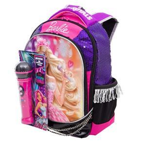 Mochila Escolar Barbie Rock`n Royals 64346-48 - Sestini 1000454