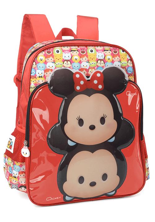 Tudo sobre 'Mochila Escolar Disney Tsum Tsum Mickey & Minnie IS33201TS-VM IS33201TSVM'