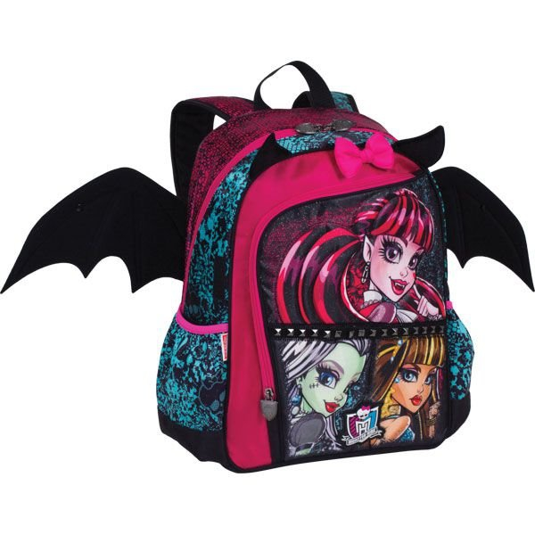 Mochila Escolar Monster HIGH 16Z GD 3BOLSOS - Sestini