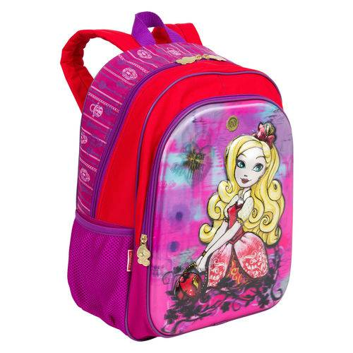 Tudo sobre 'Mochila Grande Ever After High 17x'