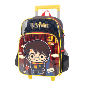 Tudo sobre 'Mochila Harry Potter com Rodas Preta'