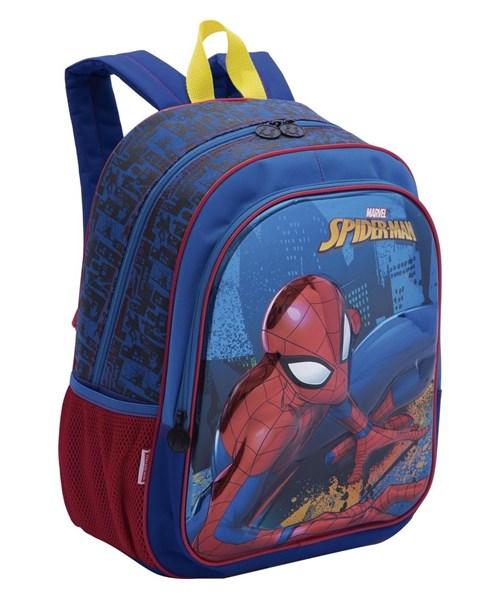 Mochila Homem Aranha Spider-Man 19X Costas Grande Original