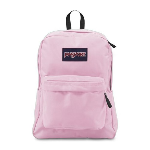Mochila JanSport Superbreak Pink Mist-Único
