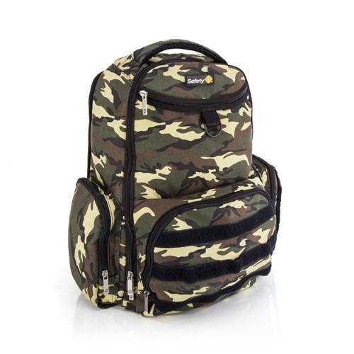 Mochila Maternidade Safety 1st BackPack Delta Green Army Camuflada GQ1703