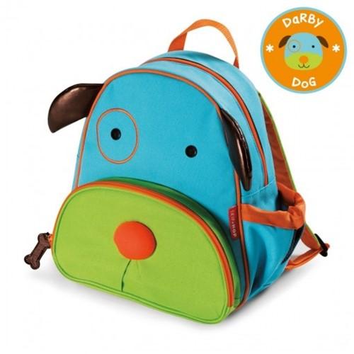 Mochila Skip Hop Zoo Cachorro 210201 Azul/ Verde