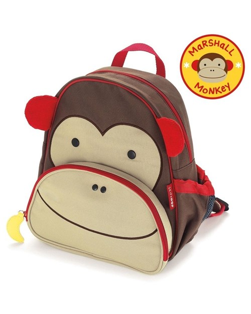 Mochila Skip Hop Zoo Macaco (Pronta Entrega )