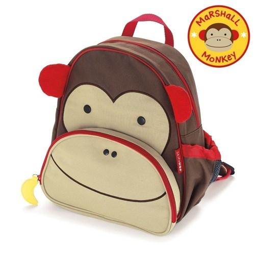Mochila Zoo - Macaco - Skip Hop (Pronta Entrega)